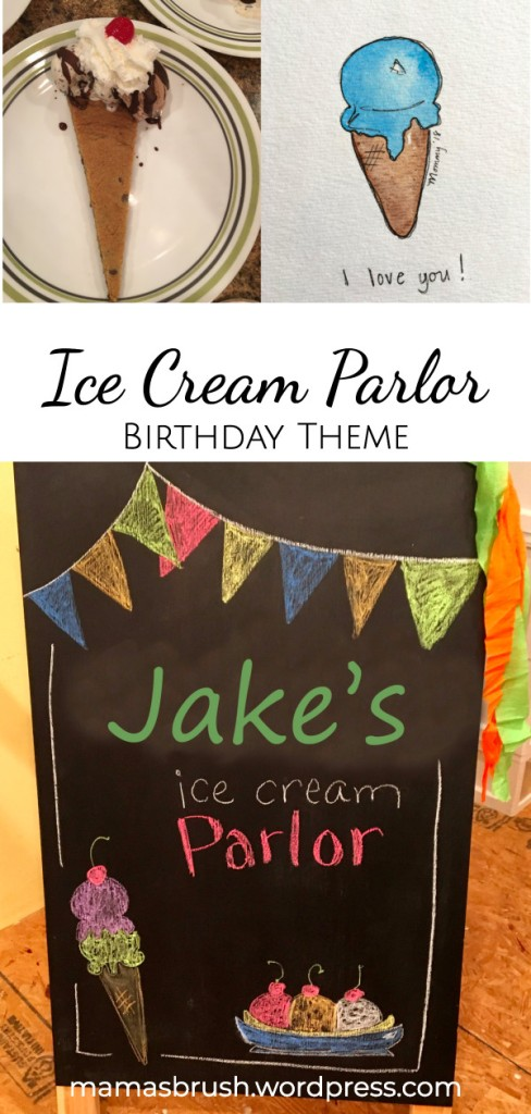 Ice Cream Parlor Birthday Party Theme