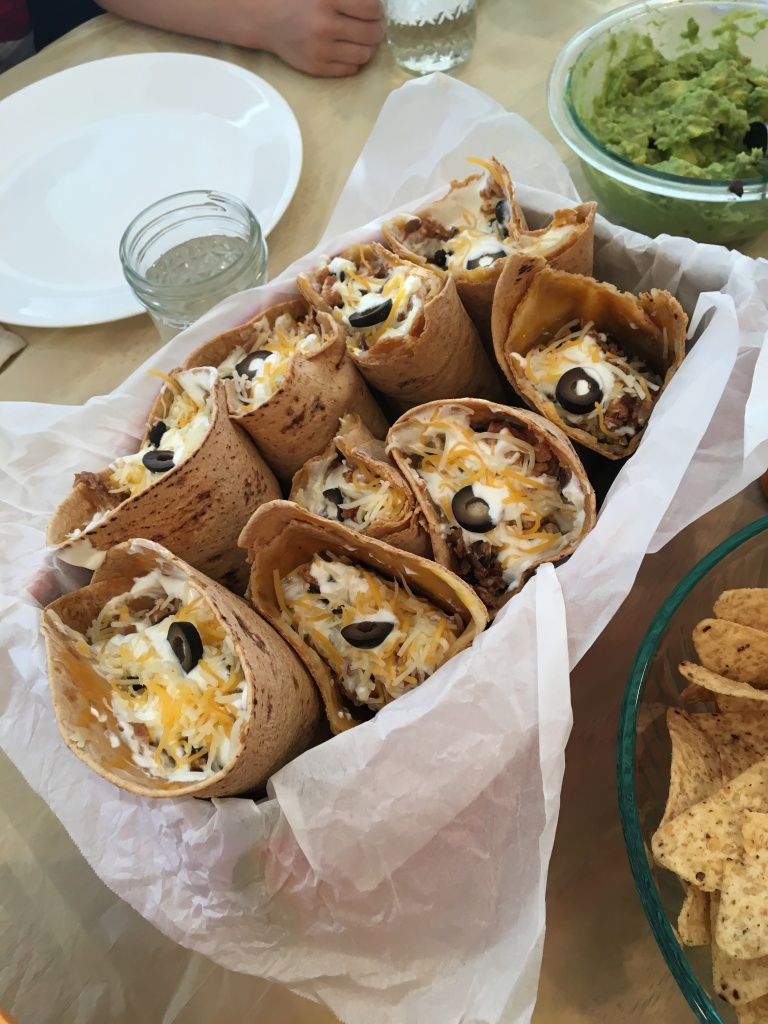 Tacos in a Cone for Ice Cream Birthday Party Theme
