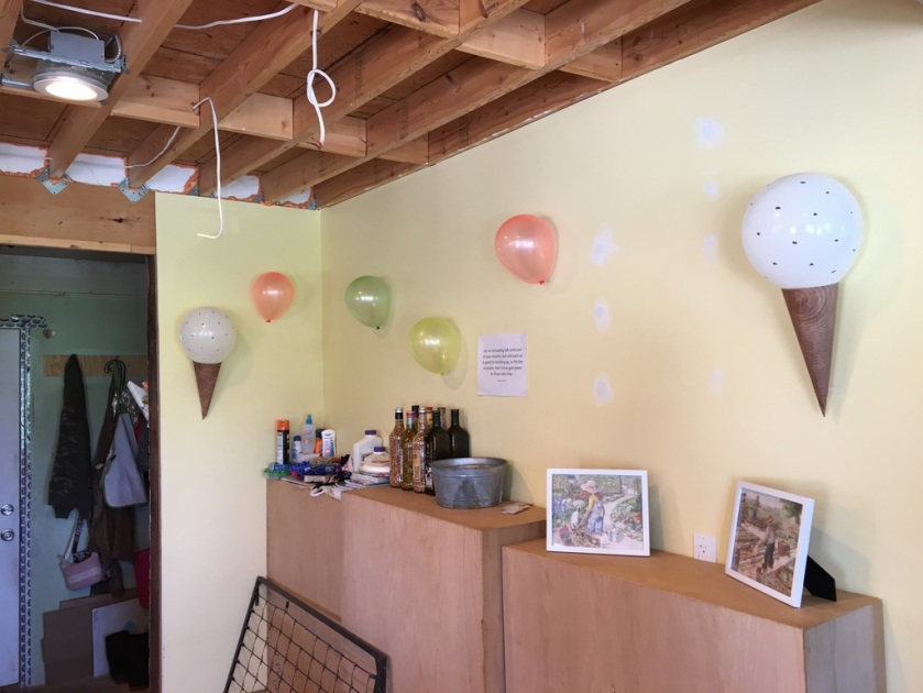 Balloon Decorations for Ice Cream Birthday Party Theme